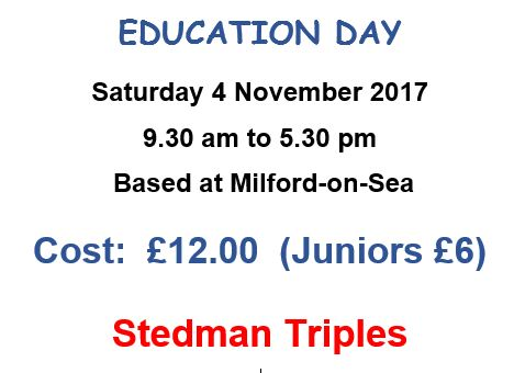 No Places left on Stedman Triples Course