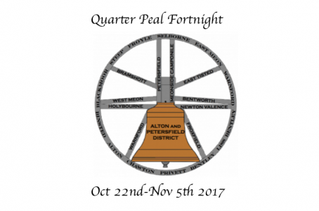 A&P District Quarter Peal Fortnight Oct 22nd-Nov 5th