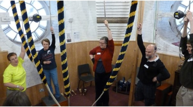Places available on Oct 14th to learn to teach bell handing