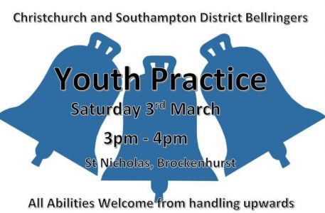 **confirmed** CS District Youth Practice March 3rd at Brockenhurst
