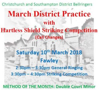 CS District Practice and Striking Competition March 10th