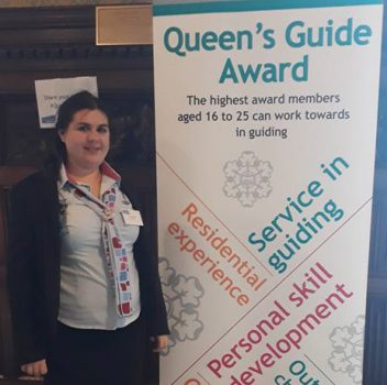 Queen's Guide Award for Brading Ringer