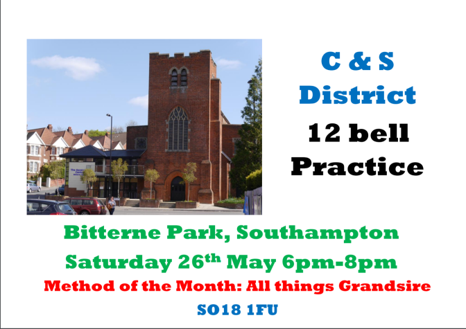 CS District 12 bell practice Sat May 26th