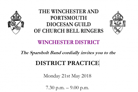 Winchester District Practice at Sparsholt Monday 21st May