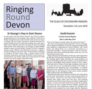 "June Issue of ""Ringing Round Devon"" Published"
