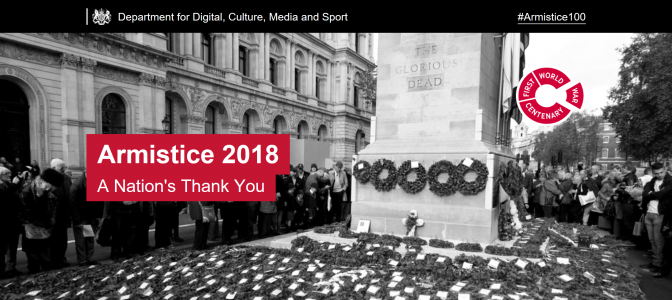 Armistice 100 Events – Add yours here..