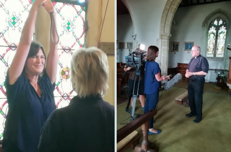 Sussex Ringers Feature on ITV Meridian News