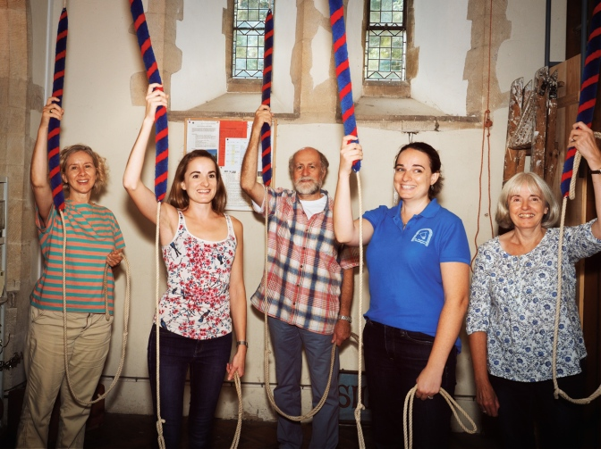 Report from the Ringing Remembers Event at Longstock on Sunday 19th August 2018