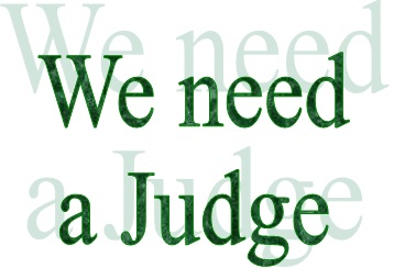 Can you be a judge for our striking competition on October 6th?
