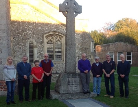 Report on commemorate ring that took place on 21 October 2018 for the Winchester District bell ringers who died in the Great War