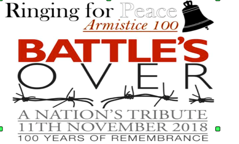 Battles Over - Armistice 100 -11112018
