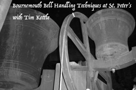 Bell Handling Practice at St. Peter's, Bournemouth cancelled 3rd January