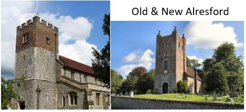 New/Old Alresford – Christmas Ringing Times