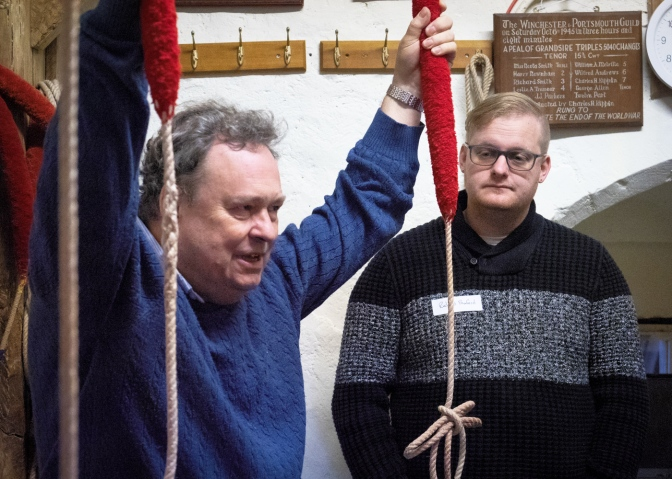 Ringer's Write-up – ART Teaching Basic Handling Course January 26th New Alresford
