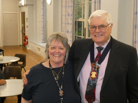 Viv Nobbs (PRO) and Mike Winterbourne (Master)