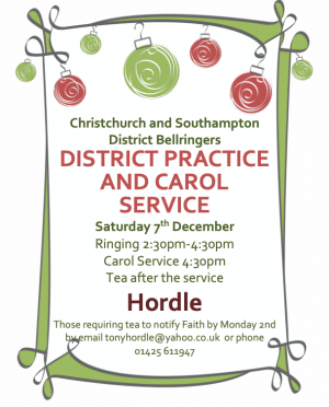 District Christmas Carol Service 07.12.2019